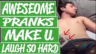 Scary and funny pranks make you scream and laugh    Hilarious pranks compilation