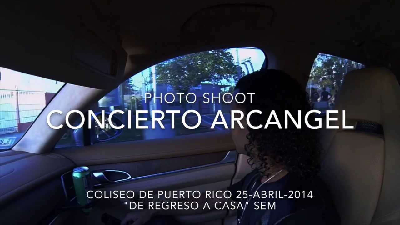 Arcangel Photo Shoot SEM World Tour
