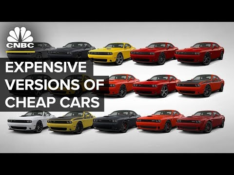 How Automakers Sell Expensive Versions Of Cheap Cars