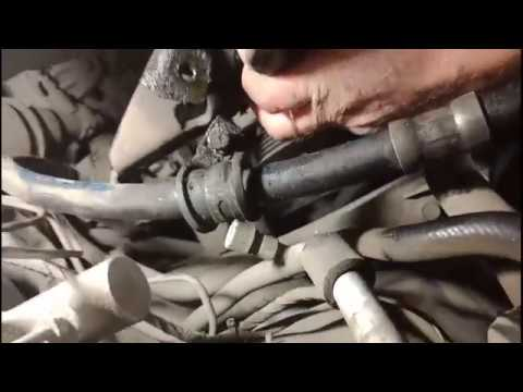 Mitsubishi Lancer замена генератора