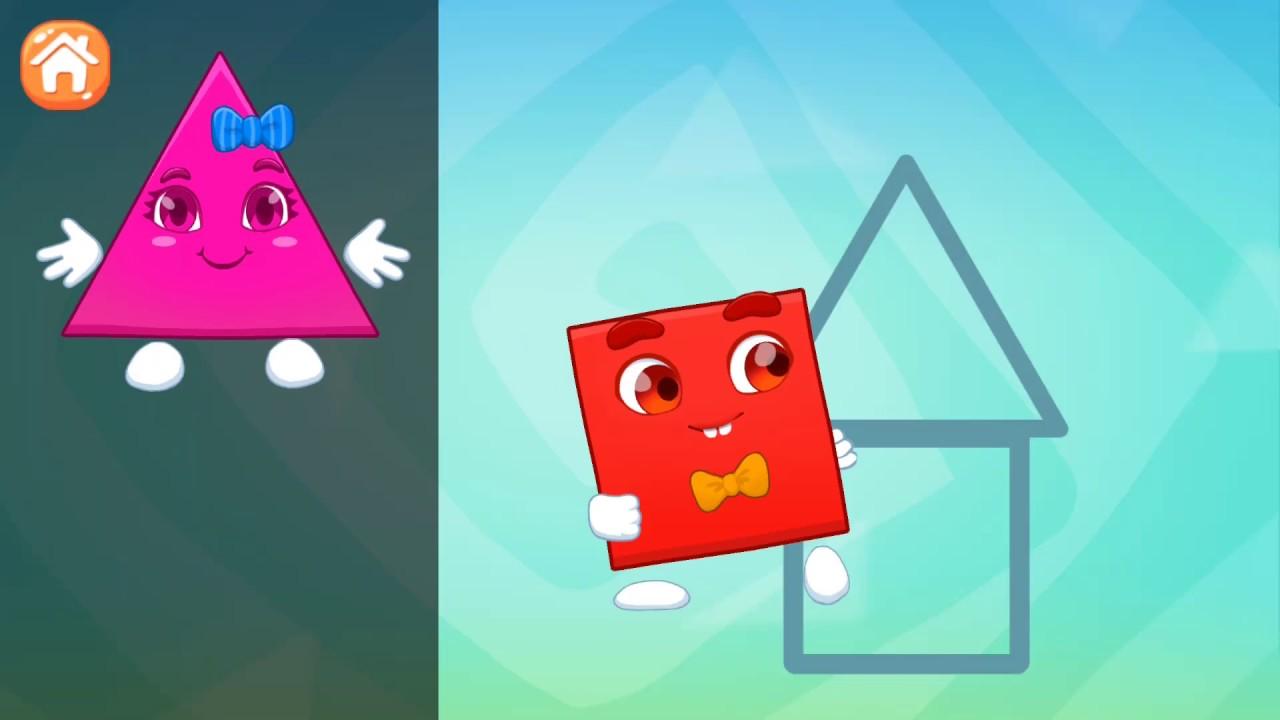 Учим геометрические фигуры. Развивающий мультик для детей ...