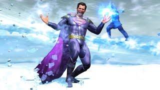 Injustice 2 All Super Moves on Superman Bizarro's Worst (No HUD) Skin/Shader Showcase 4K UHD 2160p