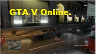GTA V Online Funny Moments. Horrible mission, Police car, Mechanic!