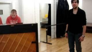 Adam Strong - Again - Scott Alan - Rehearsal