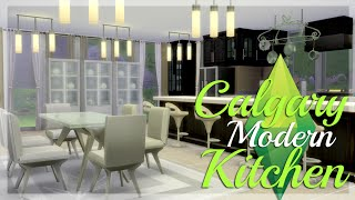 Let's Build: The Sims 4: Calgary Modern Kitchen