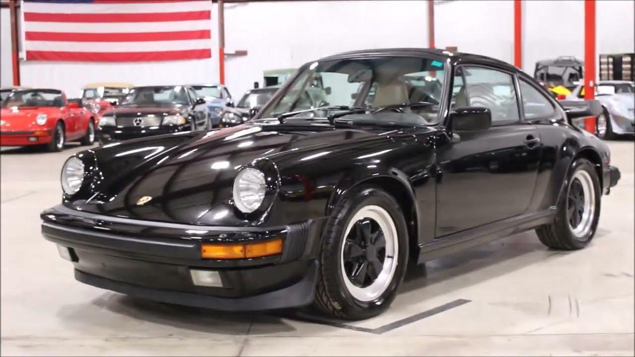 1986 porsche 911 carrera black youtube 1986 porsche 911 carrera black vanachro Gallery