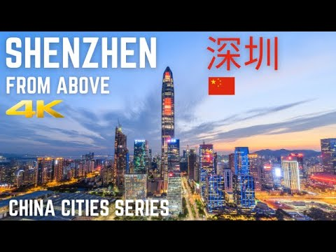 Shenzhen From Above 4K | China Cities Series Mind-blowing Drone  2020  深圳 天际线 中國