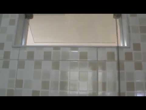 acabamento banheiro com azulejo imitando pastilha osmar de