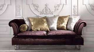 Dark sofa in the interior design ideas ➤ 35 Living Room Ideas (Black sofa) images ➤ Interior Design