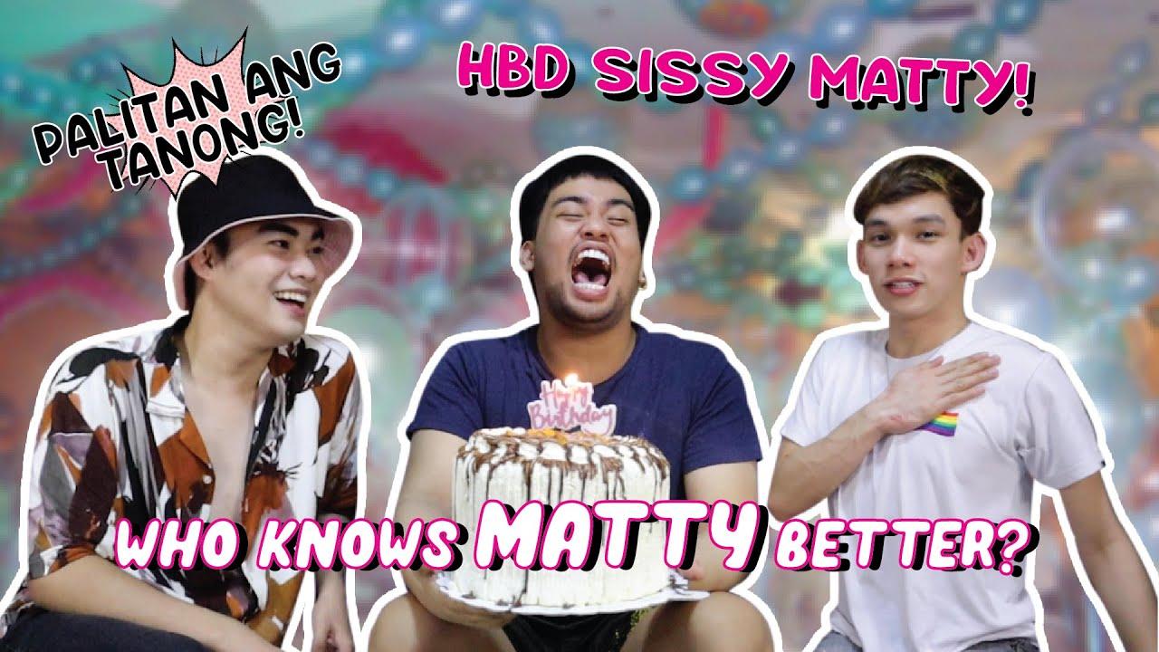 Who Knows Me Better Challenge (Happy Birthday, sis Matty!) | iDolls Vlogs