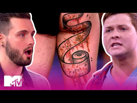 These BFFs Expose Dirty Secrets W/ GIANT Tattoos | How Far Is Tattoo Far? | MTV