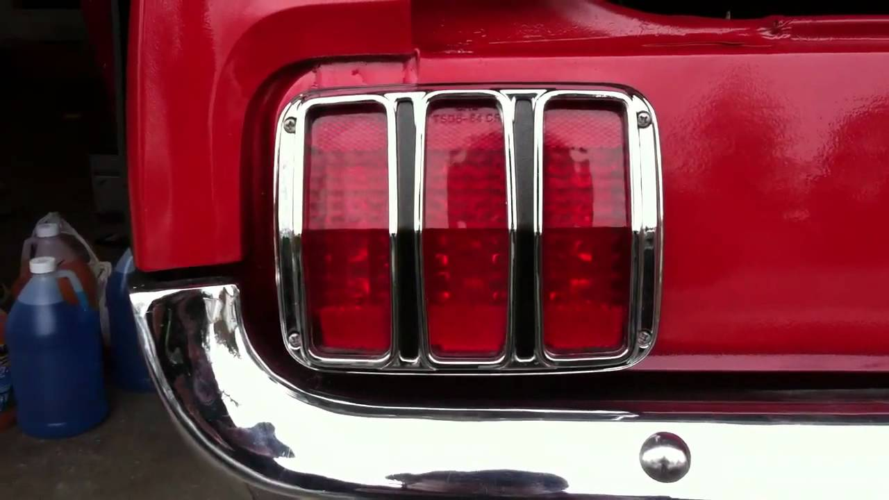 Led Tail Lights 1965 Mustang Youtube
