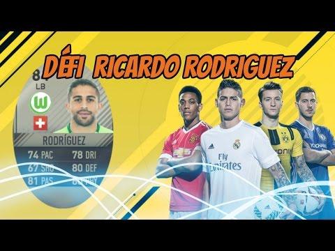 FIFA17- DÉFI CRÉATION D'ÉQUIPE RICARDO RODRIGUEZ