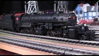 mth premier prr hh1 y 3 2 8 8 2 steam locomotive with atlaso reefers in true hd 1080p
