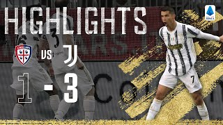 Cagliari 1 3 Juventus CR7 Scores 770th Goal with Hat Trick Serie A Highlights