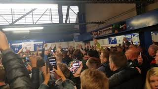 West Bromwich Albion Amazing Away Support At Blues!!!!😍