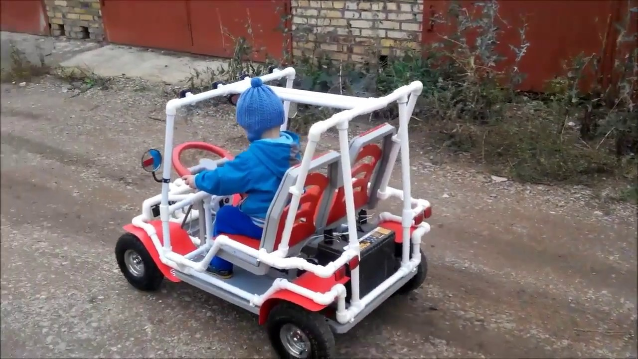 Детский электромобиль своими 10