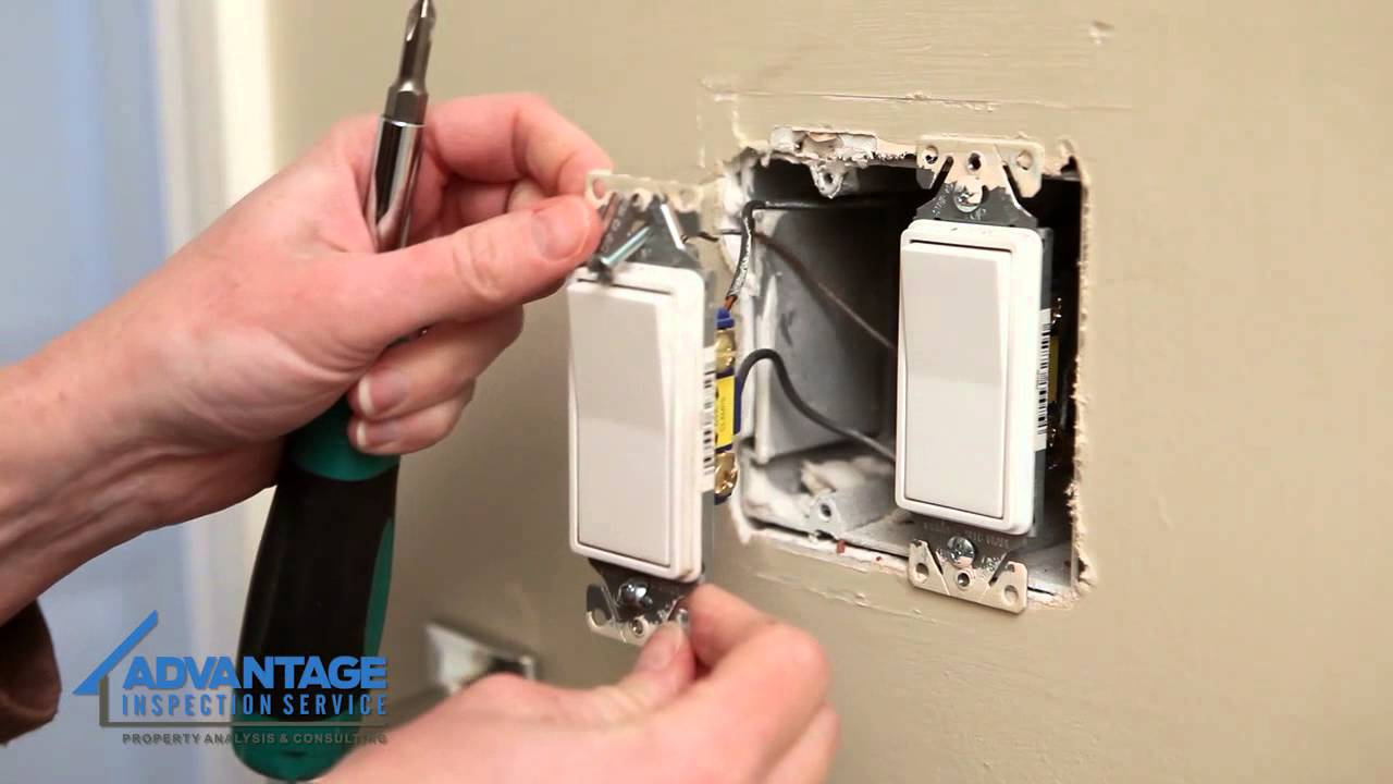 installing a single pole dimmer switch for a light youtube. Black Bedroom Furniture Sets. Home Design Ideas