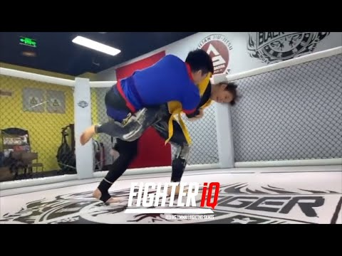ZHANG WEILI UFC CHAMPION INTENSE SPARRING, RIDICULOUS WORKOUT ROUTINES & STRENGTH / CONDITIONING!