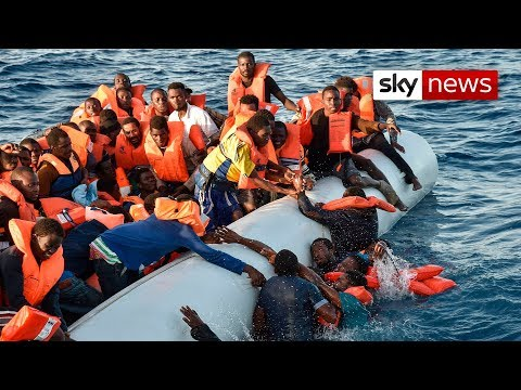 Europe's Migration Tragedy: Life and death in the Mediterran