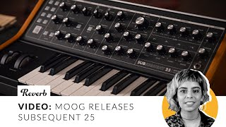 Moog Subsequent 25 Duophonic Synthesizer | Reverb Demo