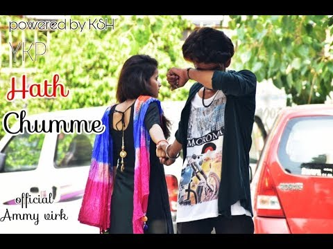 |Sad Love Story| Ammy Virk :Hath Chumme official video song. Powered by KSH videos...