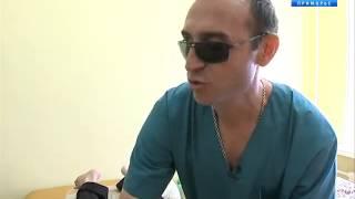Владивостокский медицинский колледж выпускает группу слепых массажистов