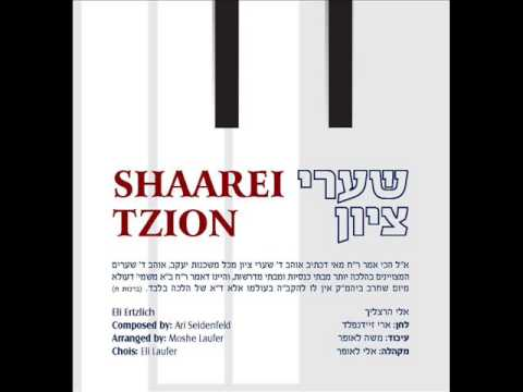 אלי הרצליך שערי ציון - דרשו | Eli Herzlich Shaarei Tzion - Dirshu
