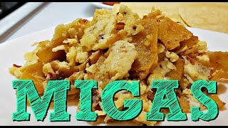 Making My Grandmother's Migas Recipe | How To Make Migas | Simply Mama Cooks