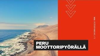 Peru Moottoripyörällä   Peru on motorcycle   PeterPanBike