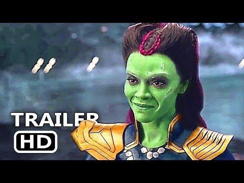 AVENGERS INFINITY WAR Gamora VS Thanos Deleted Scene HD