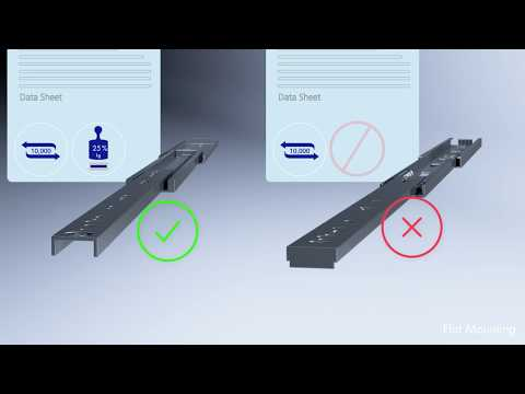 Understanding Side Space & Flat Mounting #Accuride Drawer Slides