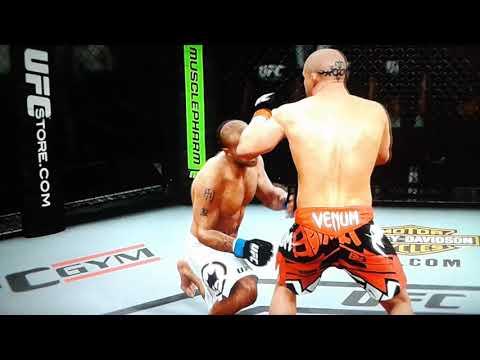 EA SPORTS UFC WANDERLEI SILVA K.O ROBBIE LAWLER