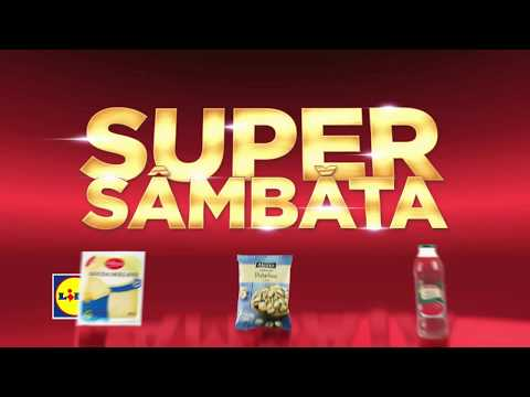 Super Sambata la Lidl • 1 Septembrie 2018