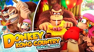 ¡llegan los aguafiestas 01 donkey kong country tropical freeze switch dsimphony