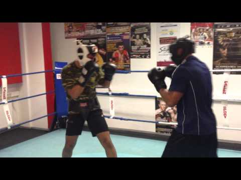 Ahmad Mohammed - Sparing