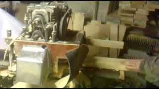 Самодельный станок для изготовления ульев , вагонки , половой доски(Станок двух сторонний с механической подачей заготовки ,для прозводства ульев . Обрабатывает заготовку..., 2015-01-26T19:51:31.000Z)