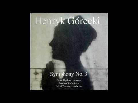 Gorecki - Symphony No. 3 - Movement 1. Lento - sostenuto tranquillo ma cantabile. Op. 36 (1976) [HQ]
