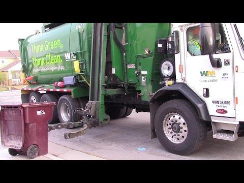 Waste Management Moreno Valley >> Waste Management: Peterbilt 320/Elliptical (Think Green, Think Clean) Amrep ASL 104502 by ...
