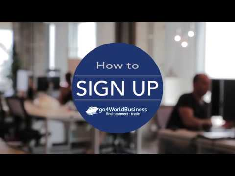 How to use go4worldbusiness to find global buyers