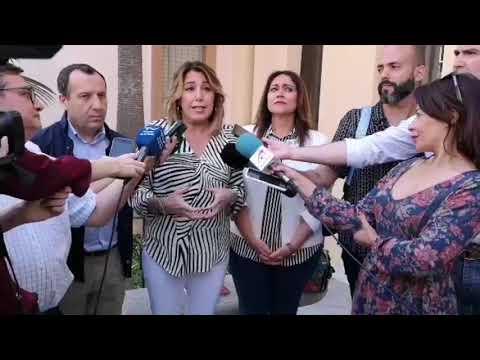 Susana Díaz presenta la candidatura de Mikaela García