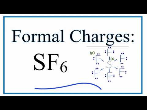 how to calculate the formal charges for sf6 (sulfur hexafluoride) SF6 Resonance Structure