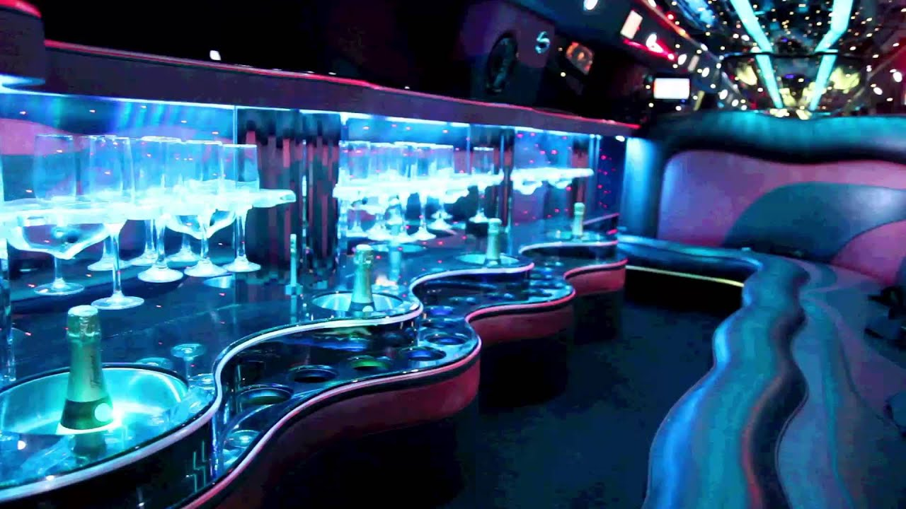 Hummer Limousine from the inside
