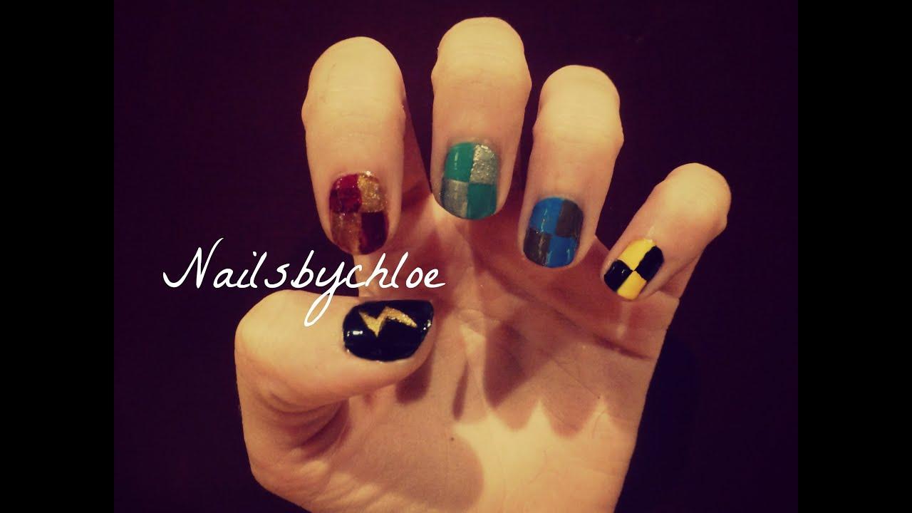 Easy Harry Potter Nails
