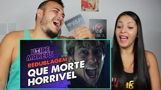 REAGINDO A  DEATH NOTE (FILME) - Que Morte Horrível (Redublagem) (Voice Makers)