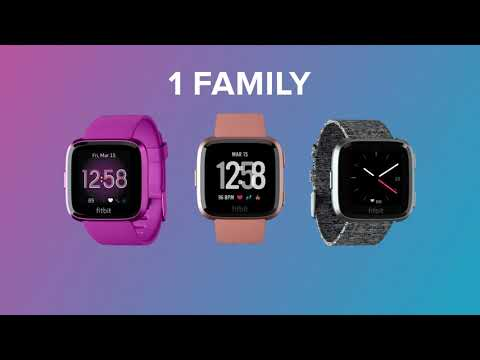 Introducing the Fitbit Versa Family​