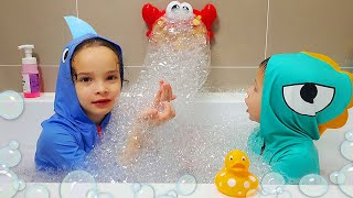Bath Bubbles Song Nursery Rhymes song for Kids Comptines en anglais