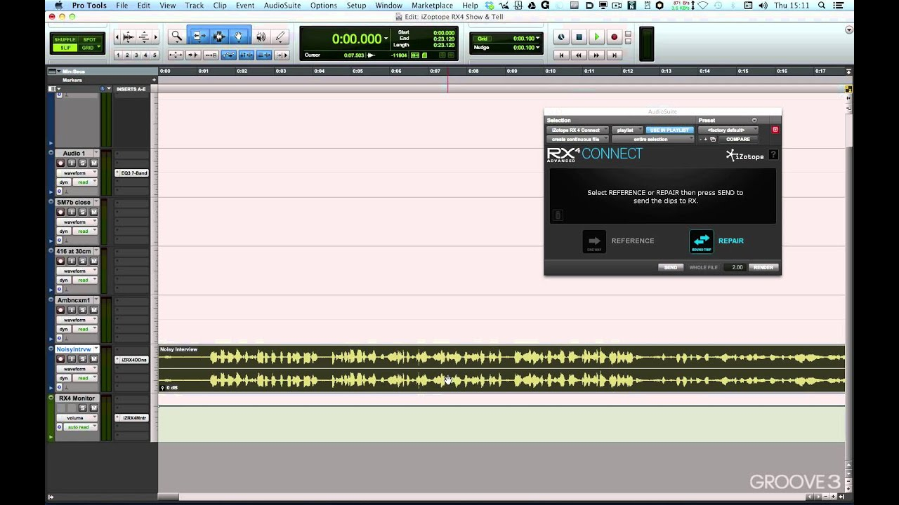 rx monitor rx connect plug ins izotope rx 4 explained youtube