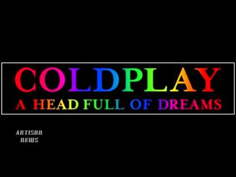 COLDPLAY ANNOUNCE A HEAD FULL OF TOUR DATES