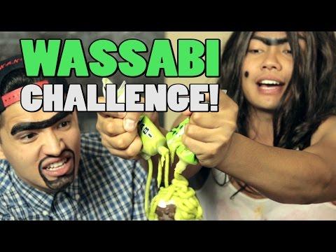 WASSABI CHALLENGE! ft Richard & Rolanda